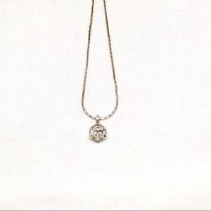 Jewelry - Vintage Crystal Cube Necklace